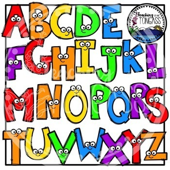 A-Z Uppercase Letters Clipart (Alphabet Clipart)