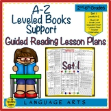 A-Z Leveled Books Support: Guided Reading Lesson Plans Set 1 (Levels N-Z)