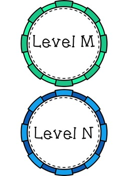 A-Z Leveled Library Bin Labels