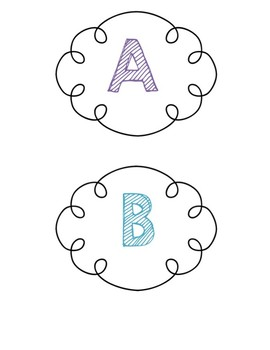 A-Z Leveled Library Book Labels and Book Stickers