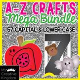 A-Z Lower and Upper Case Craft Mega Bundle