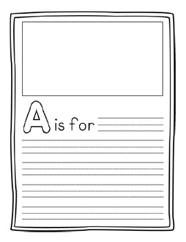 A-Z Memory Book - End of the Year