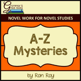 A-Z Mysteries: CCSS-Aligned Novel Work
