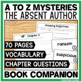 A-Z Mysteries The Absent Author Book Unit