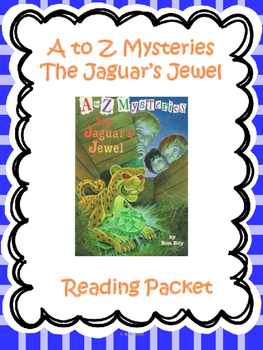 A-Z Mysteries The Jaguar's Jewel