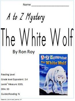 A-Z Mystery White Wolf Novel Study