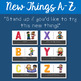 New Things ABC: K-1 Growth Mindset School Counseling Lesson #FLAVOROFTHEDAY