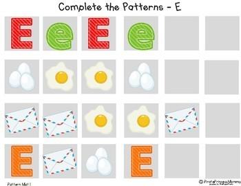 A - Z Pattern Mats