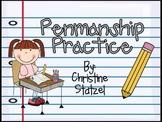 A-Z Penmanship Practice