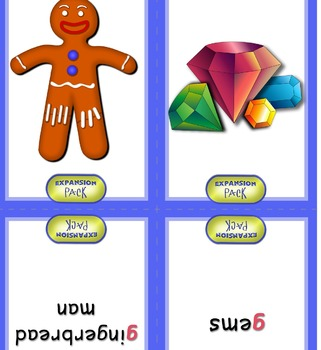 A-Z Phonics Game Size Flashcards EXPANDED PACK (ph, soft c/g, long vowels)