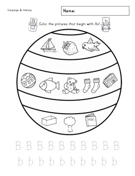 A-Z Phonics & Writing Practice Worksheet Packet
