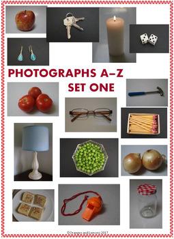 A-Z Photographs Clip Art (Set 1)