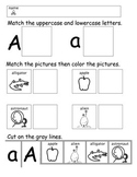 A-Z Picture Match Early Literacy