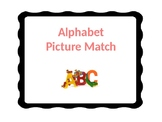 A-Z Picture and Word Matching Activity