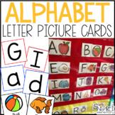 Letter & Sound Alphabet Picture Cards - ABC Pocket Chart Cards