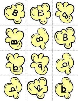 A-Z Popcorn Font Sort: Quick Center Literacy