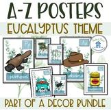 Alphabet Posters Eucalyptus Theme