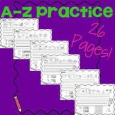 A - Z Practice Pages