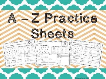 A - Z Practice Sheets