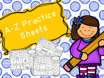 A-Z Practice Sheets