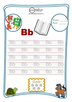 A-Z Print Letters Workbook
