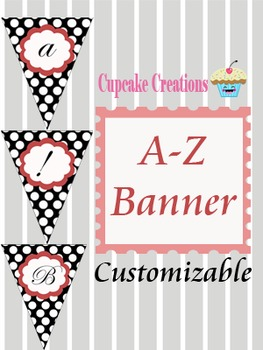 A-Z Printable Classroom Banner Set