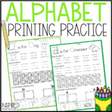 Alphabet Printing Pack: Capital and Lowercase Letters