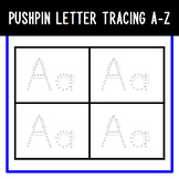 A-Z Pushpin Tracing