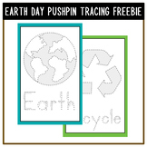 EARTH DAY PUSHPIN FREEBIE