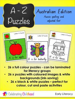 A - Z Puzzles: Australian Edition