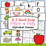 Phonics Game - A to Z Quick Snap