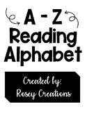 A-Z Reading Alphabet (MULTIPLE CHOICES!)