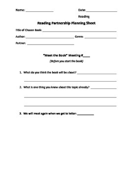 A-Z Reading Response Worksheets