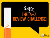 A-Z Review Challenge Activity Game for ANY TOPIC