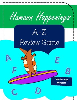 A-Z Review Game (for any subject)