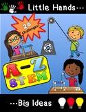 Alphabet STEM A-Z for PreK - 1st Grade!  26 STEAM Challeng