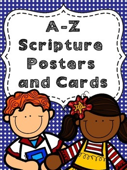 A-Z Scripture Posters and Cards