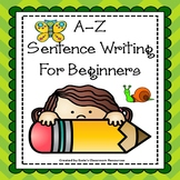 A-Z Sentence Writing for Beginners