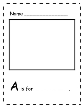 A-Z Simple Writing Packet