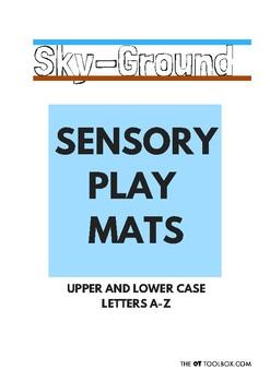 A-Z Sky/Ground Play Mats
