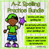 A-Z Spelling Practice Bundle
