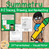 A-Z Symmetry Tracing, Drawing, and Handwriting