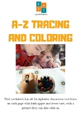 A-Z TRACING AND COLORING