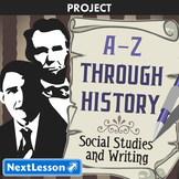 A-Z Through History - Projects & PBL
