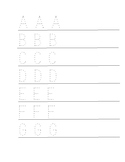A- Z Tracing