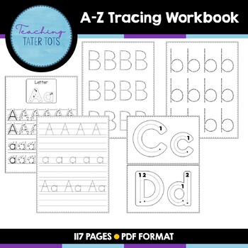 A-Z Tracing Workbook