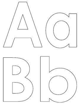FREE A-Z Upper and Lower Case Coloring Booklet