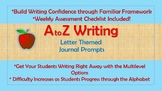 A-Z Weekly Writing Packet- Letter M