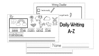 A-Z Weekly Writing Packet- Letter R