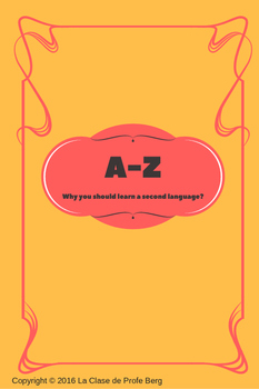 A-Z: Why should you learn a second language?